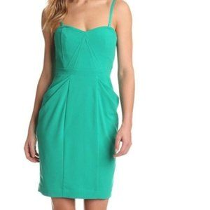 BCBGMaxAzria Daphne Cocktail Dress Emerald 10